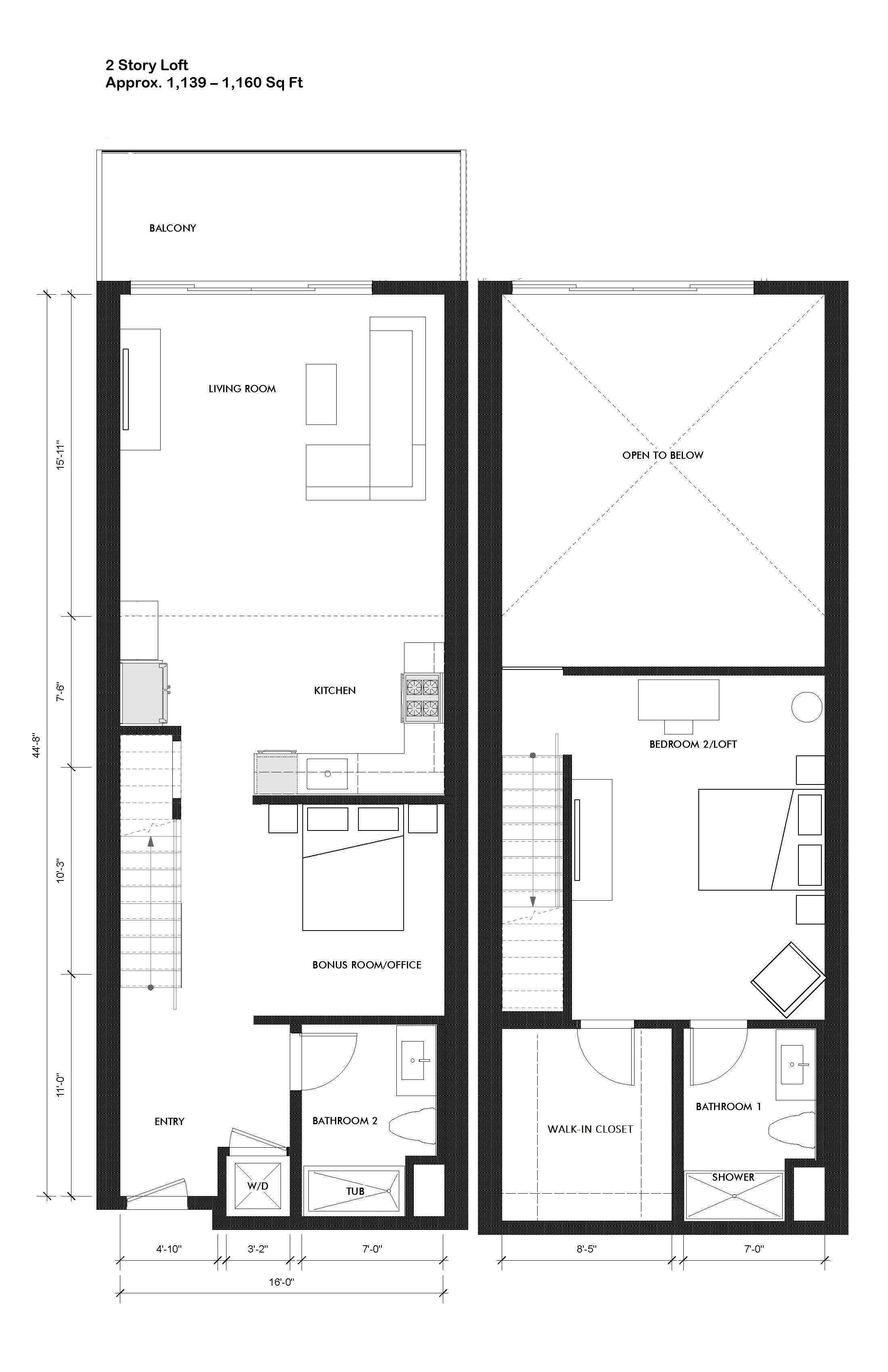 Courtleigh   unit 207 loft